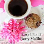 Gluten Free Berry Muffins {Recipe}