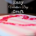 DIY {easy Valentine's Day craft}