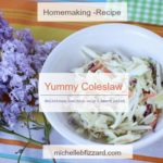 yummy coleslaw – recipes (1 smart point per half cup)