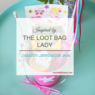 interview with the loot bag lady - another give-a-way