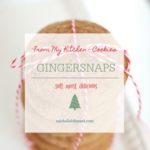 Gingersnap Cookies – soft, moist and delicious