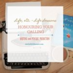 honouring a calling – let your light shine